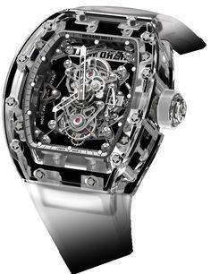 Richard Mille RM 56 Tourbillon Sapphire Mens Watch Model: RM56-02