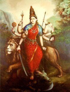 Shiva Shakti, Durga Maa, Durga Goddess, Hanuman, Krishna Hindu, Divine Mother, Mother Goddess, Indian Gods, Indian Art