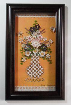 Seashell Bouquet Wall Art