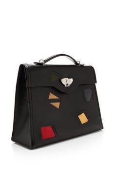 091e0c035300  Hermes Black And Multicolor Lizard And Ardennes Leather Kelly Nuages Hermes  Kelly Bag