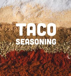 Taco Seasoning / Wit & Vinegar / recommended by The Cooking Neighborhood at www.tscpl.org