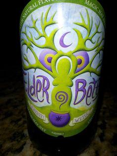 Weiss beer flavored with elderberries! Yum!