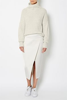 Women's New In Clothing & Fashion | Witchery Online - Double Face Skirt #WITCHERYSTYLE