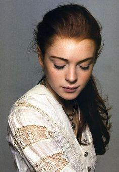Lindsay Lohan---what happened? For someone with so much promise to get caught in the dark side :( miss her onscreen.