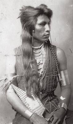 Mooragootch, a Shoshone warrior, ca. 1884.