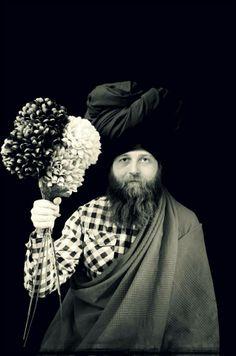 Indian Nights by VJ Von Art photography & art  #Arab #photography #art #costume #turban #floral #Indian #fashion