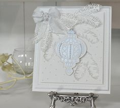 Gorgeous #Winter Wonderland card from Creative Expressions! Shop the full range at C+C: http://www.createandcraft.tv/search/creative%20expressions?fh_location=//CreateAndCraft/en_GB/$s=creative%20expressions&gs=creative%20expressions #cardmaking #papercraft