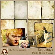 TÉCNICA: El uso de la retrógrada Foto Blends - Scrapbook-Bytes | Foro digital Scrapbooking