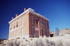 Belmont Courthouse, Nevada, USA