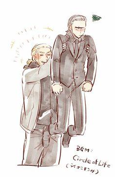 ♫♪Circle of life ♪♬ || Thor & Loki || Cr: 篠森もきゅ