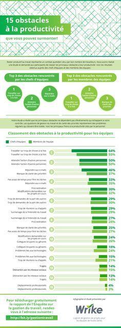 Top 15 des obstacles à la productivité qui entravent votre équipe (infographie)