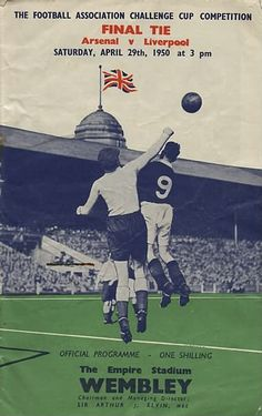 FA Cup final programme 1950