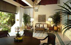 Raffles Grand Hotel d'Angkor Siem reap terrace of refurbished villa