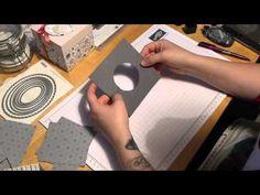 Stampin Up Cupcake box - YouTube