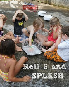 : Shark and Water Themed Fun Toddler Approved!: Shark and Water Themed Fun The post Toddler Approved!: Shark and Water Themed Fun appeared first on Pink Unicorn. Summer Games, Summer Activities For Kids, Water Activities, Summer Kids, Water Games For Kids, Family Activities, Outdoor Games To Play, Outdoor Fun, Outdoor Activities