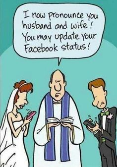 New wedding vows funny hilarious humor ideas Facebook Humor, Facebook Quotes, Facebook Status, Fb Status, Facebook Drama, Facebook Style, Social Status, Facebook Likes, Social Networks