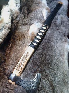 """Купить топор викинга """"Конунг"""" - серебряный, викинг, топор, секира, конунг, драган, сталь, ясень"""