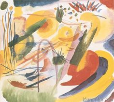 Wassily Kandinsky - Without Title