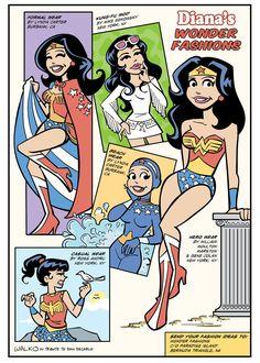 Wonder Woman Fashion.