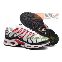 6477bff7d68e00 Nike Air Max Plus/Tn Requin 2015 Chaussures de Basketball Pour Homme Blanc/ Rouge