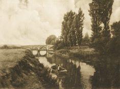 Die Kunst in der Photographie : 1907 Photographer: Charles Job Title: Pulborough Bridge