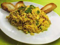 Recetas para tu Thermomix - desde Canarias: Huevos revueltos con calabacín, jamón y queso