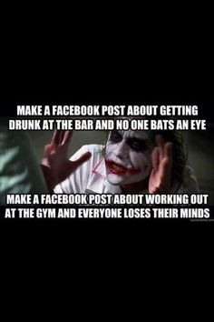 fitness humor | Fitness humor | Health. drinking isn't even fun