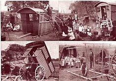 Postcards of vardos.