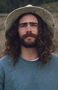Felt Hat and curls. Danny Davis <3