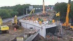 En solo dos días ingenieros construyen un túnel en Holanda