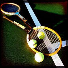 Old School - I remember my wood racket!