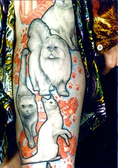25-Fantastical-Unusual-Kitty-Cat-Tattoos-10.jpg 610×870 pixels