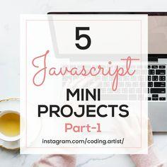 Javascript Mini Project Ideas Web Project, Project Ideas, Projects, Online Coding Courses, Html Css, One Design, Computer Science, Web Development, Java Script