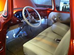 1955 chevy truck interior | 1955 Chevy Pickup Interior.
