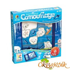 Smart Toys and Games North Pole Camouflage Logic Puzzle Game, Multicolor Rent Games, Logic Puzzle Games, Brain Teaser Puzzles, Toys R Us Canada, Problem Solving Skills, Sports Toys, Toys Online, Game 1, Brain Teasers