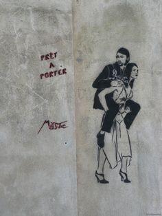 #MissTic #streetart Arles  Rue du grand Prieuré
