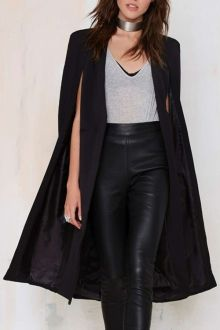 Solid Color Long Cape Blazer - I like this. Do you think I should buy it?