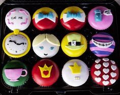 Alice In Wonderland Cupcakes | Flickr - Photo Sharing!