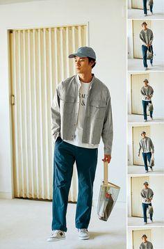 Boy Fashion, Korean Fashion, Mens Fashion, Mode Man, Pantalon Large, Layering Outfits, Mens Clothing Styles, Look Cool, Streetwear Fashion