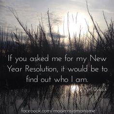 Resolutions?