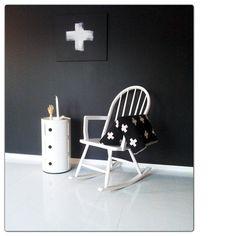 Via Followgram | Kartell Componibili | Pia Wallen Blanket | Kartell Cabinet | Black and White