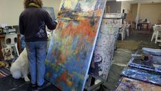 Encaustic Art, Art Day, Art Gallery, Video Link, Texture, Artist, Painting, Inspiration, Color