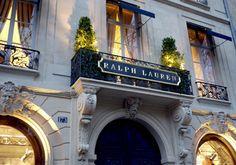 Ralph Lauren at Paris
