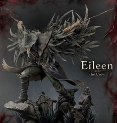 Bloodborne The Old Hunters Statue Eileen The Crow 70 cm - Animegami Store Bloodborne Concept Art, Bloodborne Art, Bloodborne Cosplay, Eileen The Crow, Arte Dark Souls, Blood Hunter, Plague Mask, Zbrush, Manga Poses