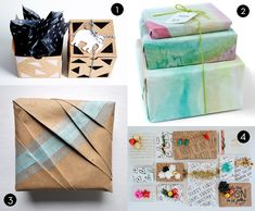 Roundup: 40 Stylish and Budget-Friendly Holiday Gift Wrap Ideas » Curbly | DIY Design Community