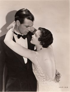 Gary Cooper and Sylvia Sidney in City Streets (1931)