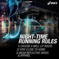 Night-time #running rules