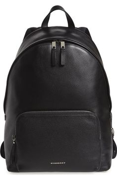 Burberry 'Abbeydale' Leather Backpack available at #Nordstrom