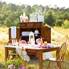 Southern flare Bridal Shower
