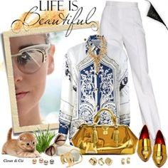 Closet di Cló para Desafio das Blusas e Acessórios - by Claudia Nunes - Destaque Fashion no desafio outubro de 2013.